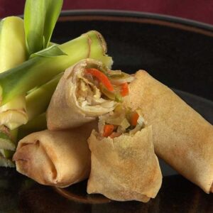Fox River Dairy Kabobs mini vegetable spring roll