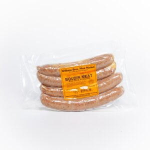 Williams Brothers boudin cajun sausage link